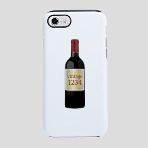 Custom Vintage Wine iPhone 8/7 Tough Case