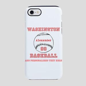 Baseball Personalized iPhone 7 Tough Case