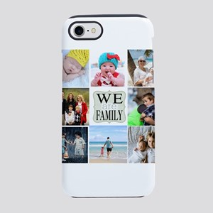 Custom Family Photo Collage iPhone 7 Tough Case