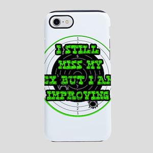 MISS MY EX HUMOR iPhone 7 Tough Case