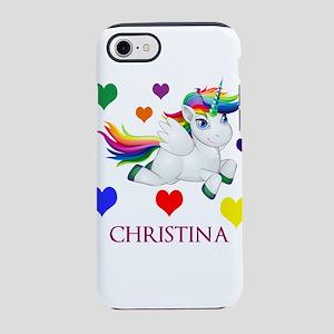 Unicorn Make Personalized iPhone 7 Tough Case