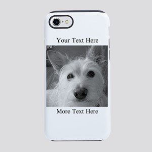 Your Text and Your Photo Here iPhone 7 Tough Case