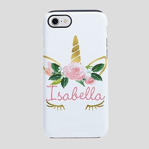 sleeping unicorn personalize iPhone 8/7 Tough Case