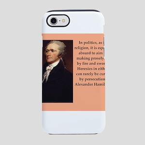 alexander hamilton iPhone 8/7 Tough Case