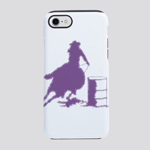 Purple Barrel Racer Female R iPhone 8/7 Tough Case