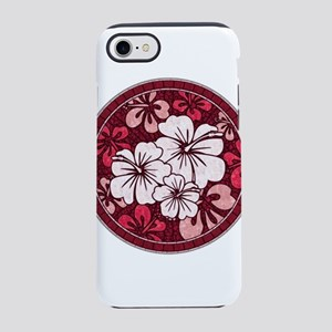 Red Hisbiscus iPhone 8/7 Tough Case