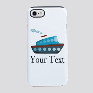 Personalizable Cruise Ship iPhone 8/7 Tough Case
