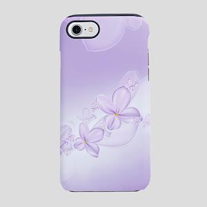 Soft Lilac Flowers iPhone 7 Tough Case