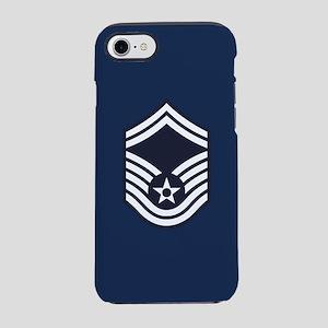 USAF: SMSgt E-8 (Blue) iPhone 8/7 Tough Case