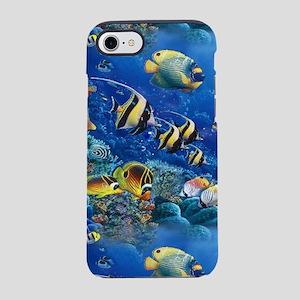 Tropical Fish iPhone 8/7 Tough Case