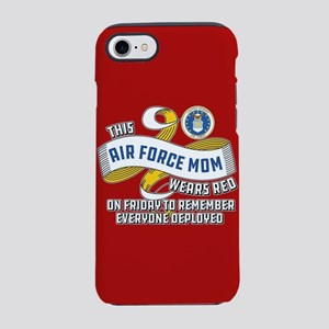 Air Force Mom Wears Red on F iPhone 8/7 Tough Case