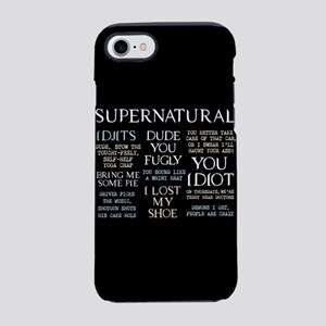 Supernatural Quotes iPhone 7 Tough Case