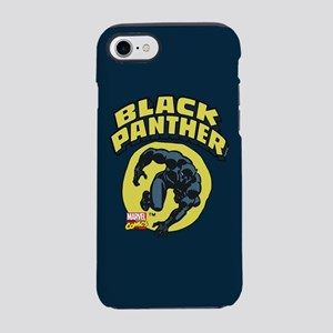 Black Panther Comic Logo iPhone 8/7 Tough Case