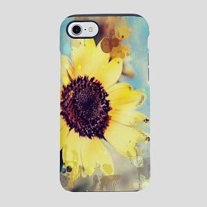 summer botanical watercolor iPhone 8/7 Tough Case