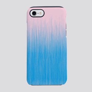United Pink and Blue iPhone 8/7 Tough Case