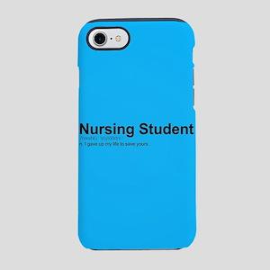 Nursing Student Definition iPhone 8/7 Tough Case