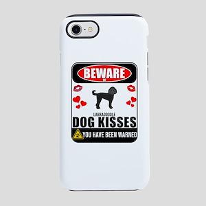 Beware Of Labradoodle Dog Ki iPhone 8/7 Tough Case