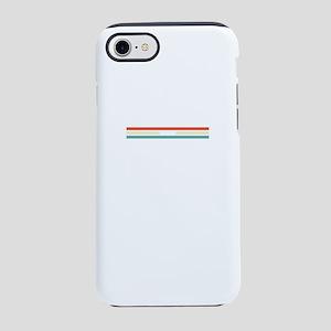 Retro Colors Alaskan Patriot iPhone 8/7 Tough Case