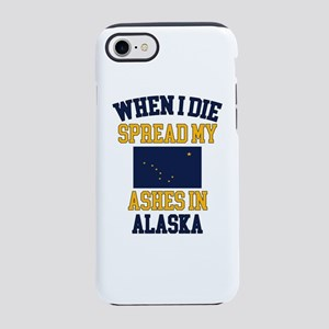 When I Die Spread My Ashes i iPhone 8/7 Tough Case
