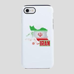 Football Worldcup Iran Irani iPhone 8/7 Tough Case