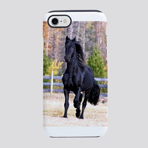 Frisian Horse Stallion 02 iPhone 7 Tough Case