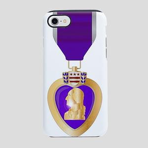 Purple Heart Medal iPhone 8/7 Tough Case