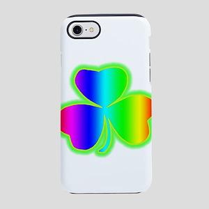 rainbowshamrock iPhone 8/7 Tough Case