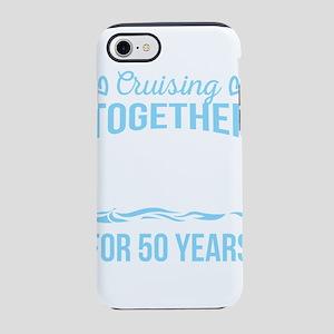 Wedding Anniversary Cruising iPhone 8/7 Tough Case