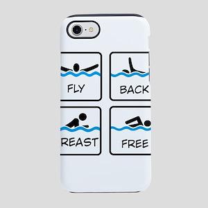 swimming iPhone 8/7 Tough Case