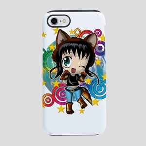 COYOTE GIRL ANIME CHIBI iPhone 7 Tough Case
