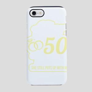 Wedding Anniversary 50 Years iPhone 8/7 Tough Case