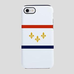 New Orleans Flag iPhone 8/7 Tough Case