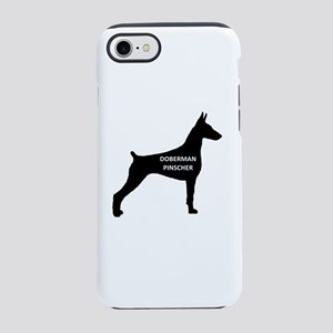 doberman pinscher name on silhouette iPhone 8/7 To