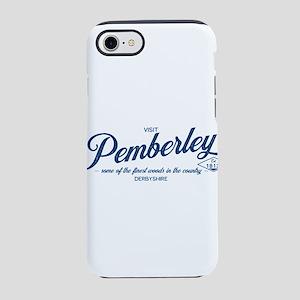 Visit Pemberley (light background) iPhone 8/7 Toug