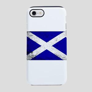 Scotish Flag Grunge iPhone 8/7 Tough Case