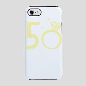 50th Wedding Anniversary 50 iPhone 8/7 Tough Case
