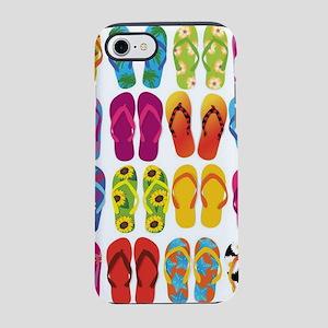Summer Fun Flip Flops iPhone 8/7 Tough Case