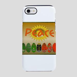 Kwanzaa Peace Eggs iPhone 8/7 Tough Case