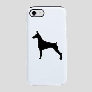 DP silhouette black iPhone 8/7 Tough Case