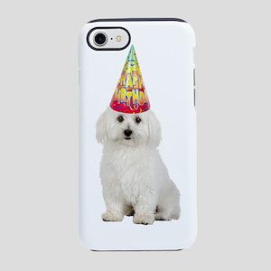 Bichon Frise Birthday iPhone 8/7 Tough Case
