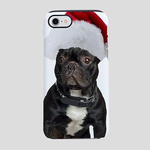 French Bulldog Santa iPhone 8/7 Tough Case