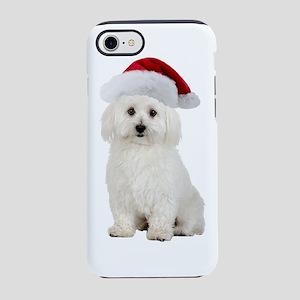 Bichon Frise Christmas iPhone 8/7 Tough Case