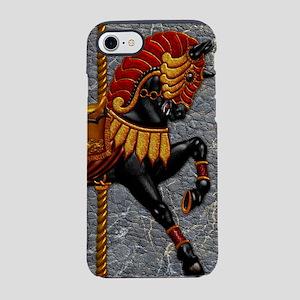 Harvest Moons Carousel Horse iPhone 7 Tough Case