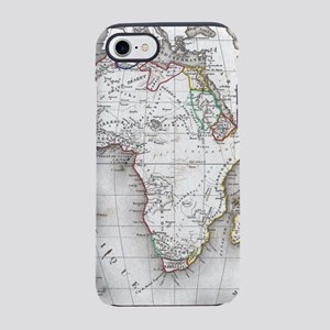 Vintage Map of Africa (1852) iPhone 7 Tough Case