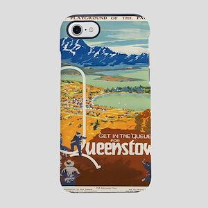 Vintage poster - New Zealand iPhone 7 Tough Case