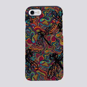 Hippy Dragonfly Flit iPhone 7 Tough Case