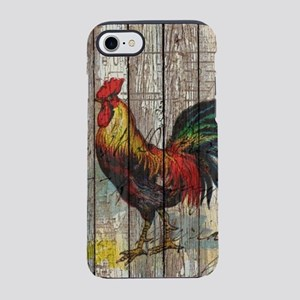 rustic farm country rooster iPhone 7 Tough Case