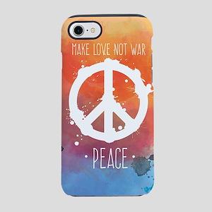 Peace Sign iPhone 8/7 Tough Case