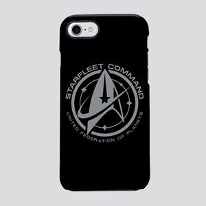 Grey Starfleet Command Emblem iPhone 7 Tough Case