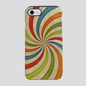 Psychedelic Retro Swirl iPhone 7 Tough Case